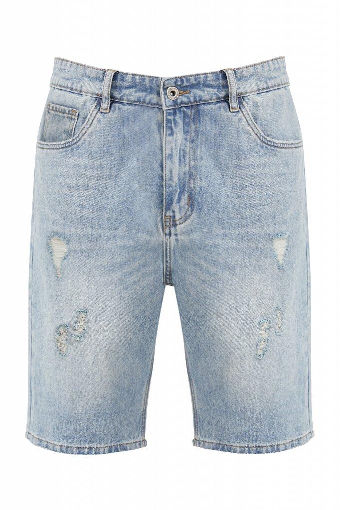 Шорты джинсовые мужские, Модель S21-25003, Фото №6