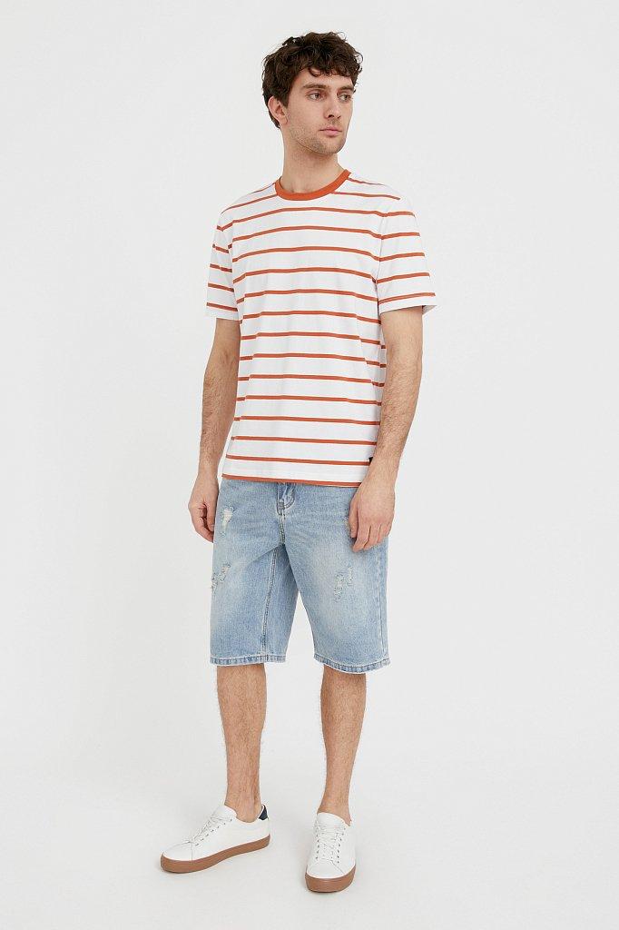 Шорты джинсовые мужские, Модель S21-25003, Фото №1