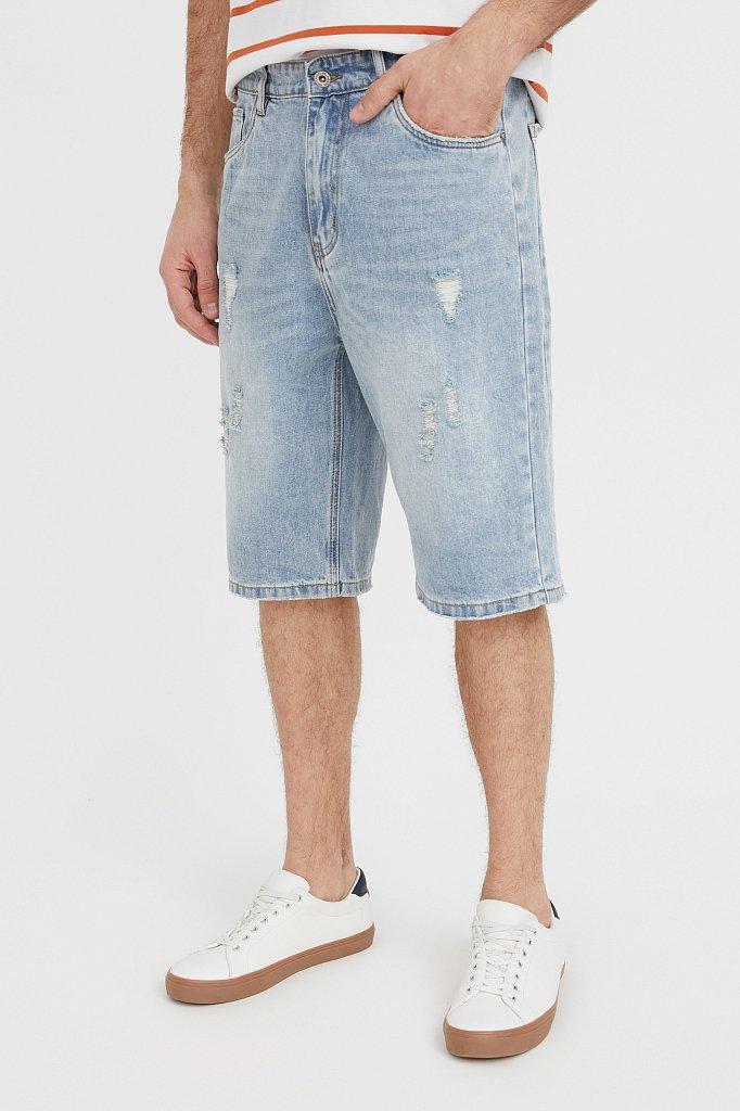 Шорты джинсовые мужские, Модель S21-25003, Фото №2