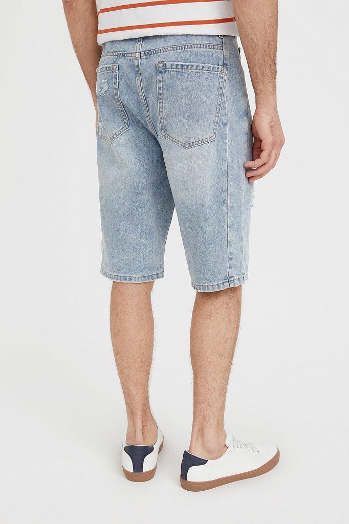Шорты джинсовые мужские, Модель S21-25003, Фото №4