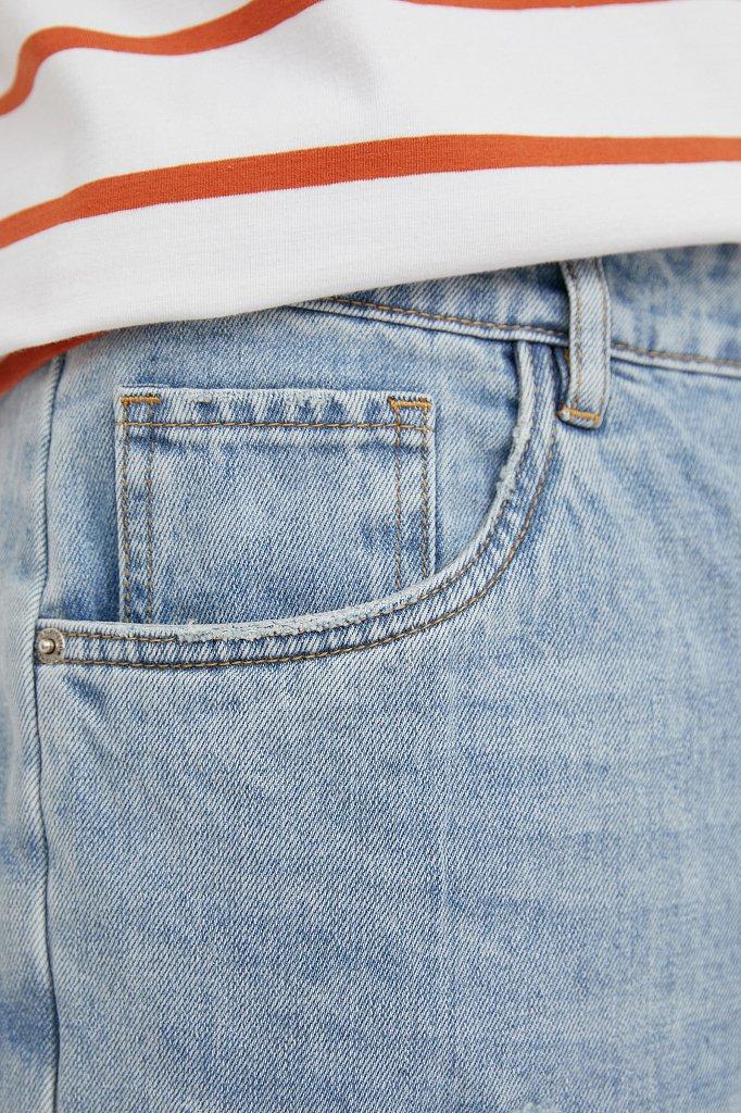 Шорты джинсовые мужские, Модель S21-25003, Фото №5