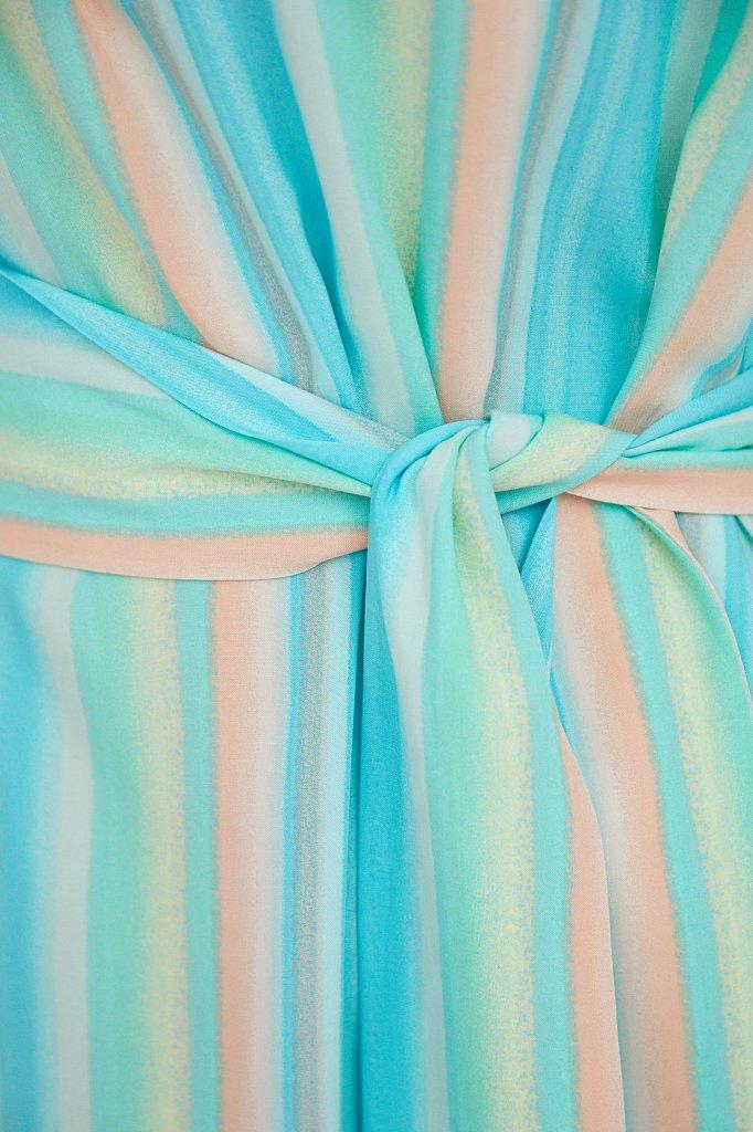 Платье-мини в полоску, Модель S21-32056, Фото №5