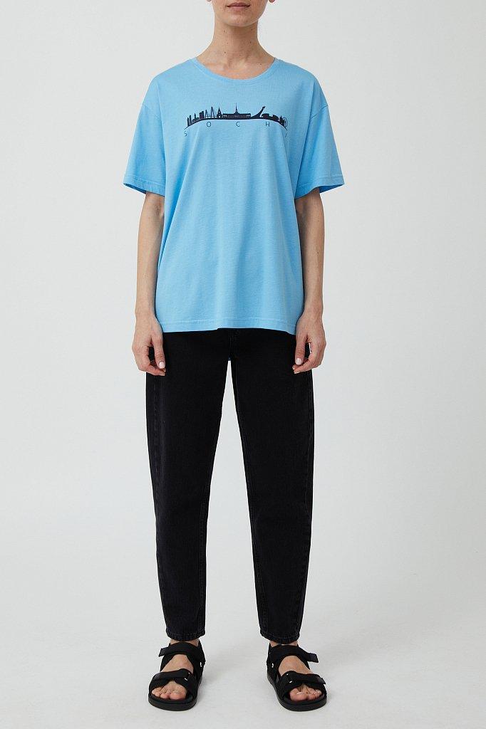 Футболка женская, Модель S21-51000, Фото №2