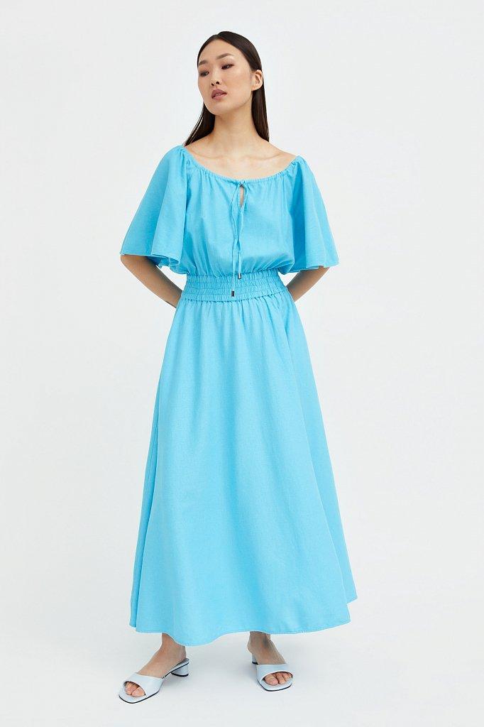 Приталенное платье-макси, Модель S21-12018, Фото №1