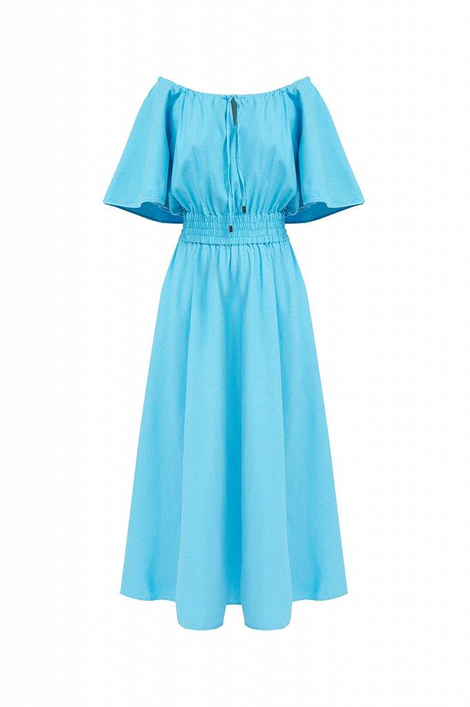 Приталенное платье-макси, Модель S21-12018, Фото №7