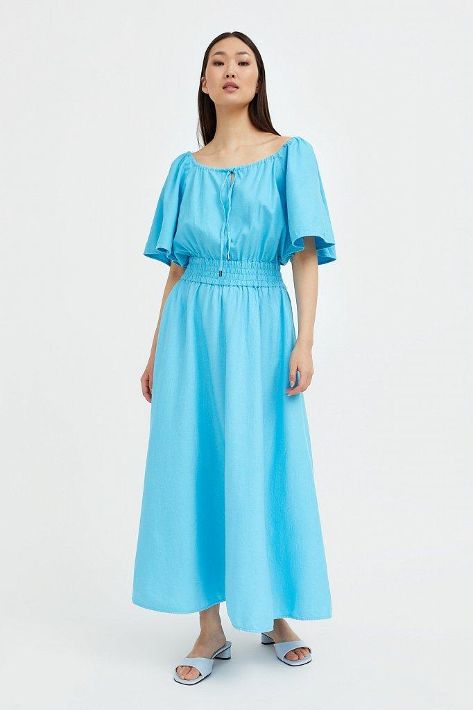 Приталенное платье-макси, Модель S21-12018, Фото №2
