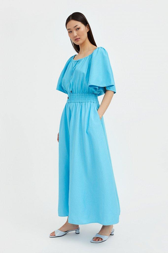 Приталенное платье-макси, Модель S21-12018, Фото №3
