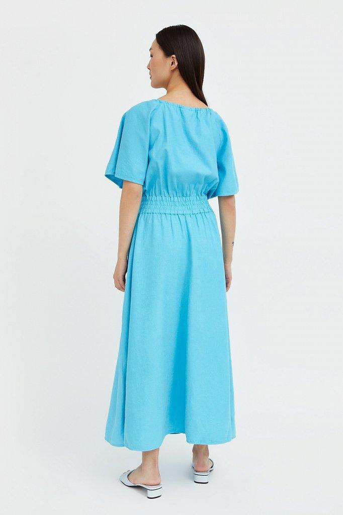 Приталенное платье-макси, Модель S21-12018, Фото №4
