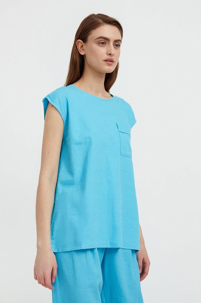 Блузка женская, Модель S21-12026, Фото №3