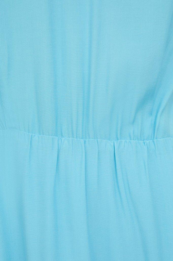 Платье-миди с V-образным вырезом, Модель S21-32009, Фото №5