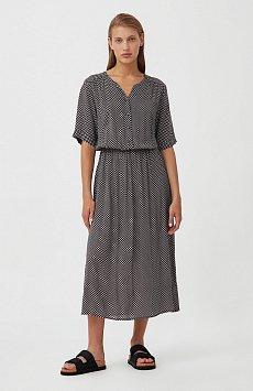 Платье-миди с принтом S21-14085
