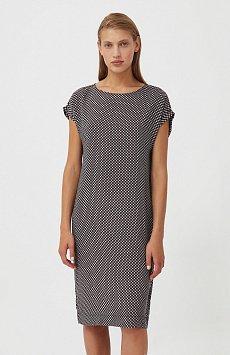 Прямое платье с геометричным принтом S21-14087