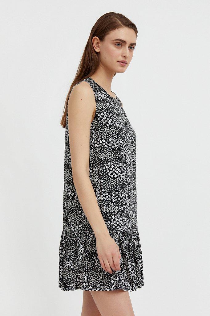 Платье мини с принтом, Модель S21-120100, Фото №3