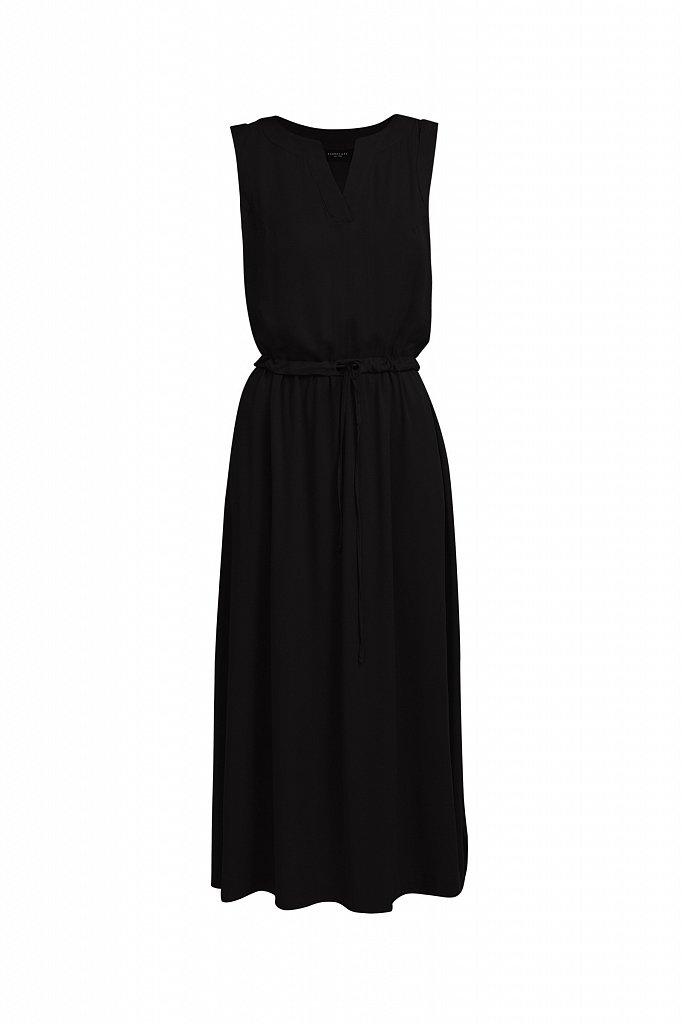 Платье макси без рукавов, Модель S21-12092, Фото №7