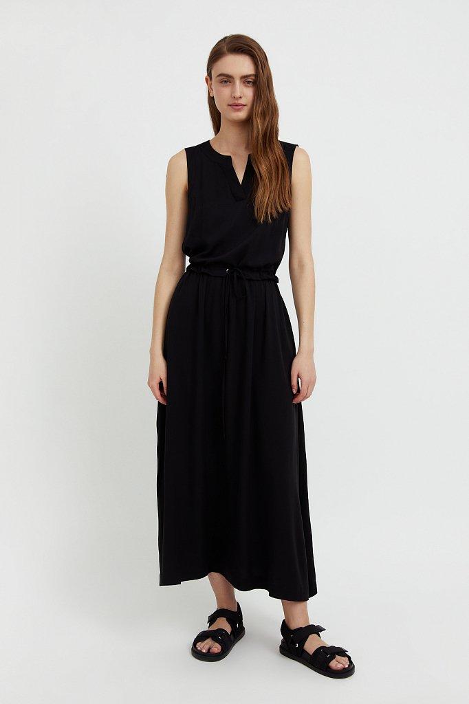 Платье макси без рукавов, Модель S21-12092, Фото №2