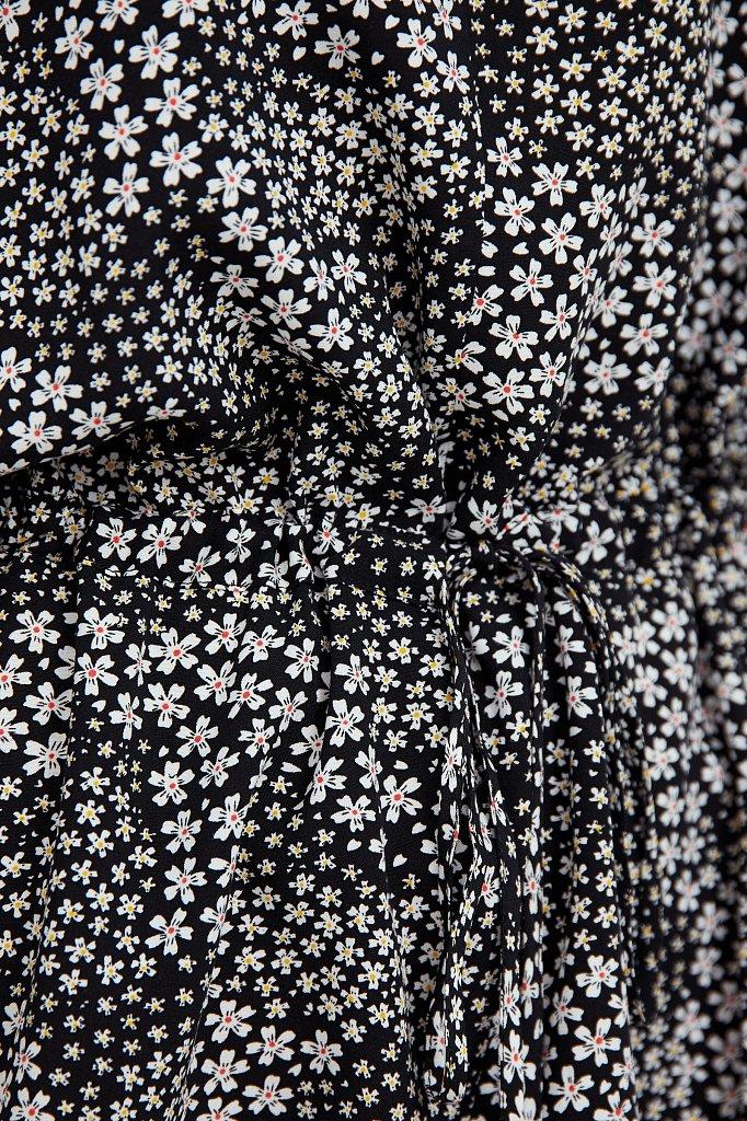Блуза с мелким принтом, Модель S21-12097, Фото №5