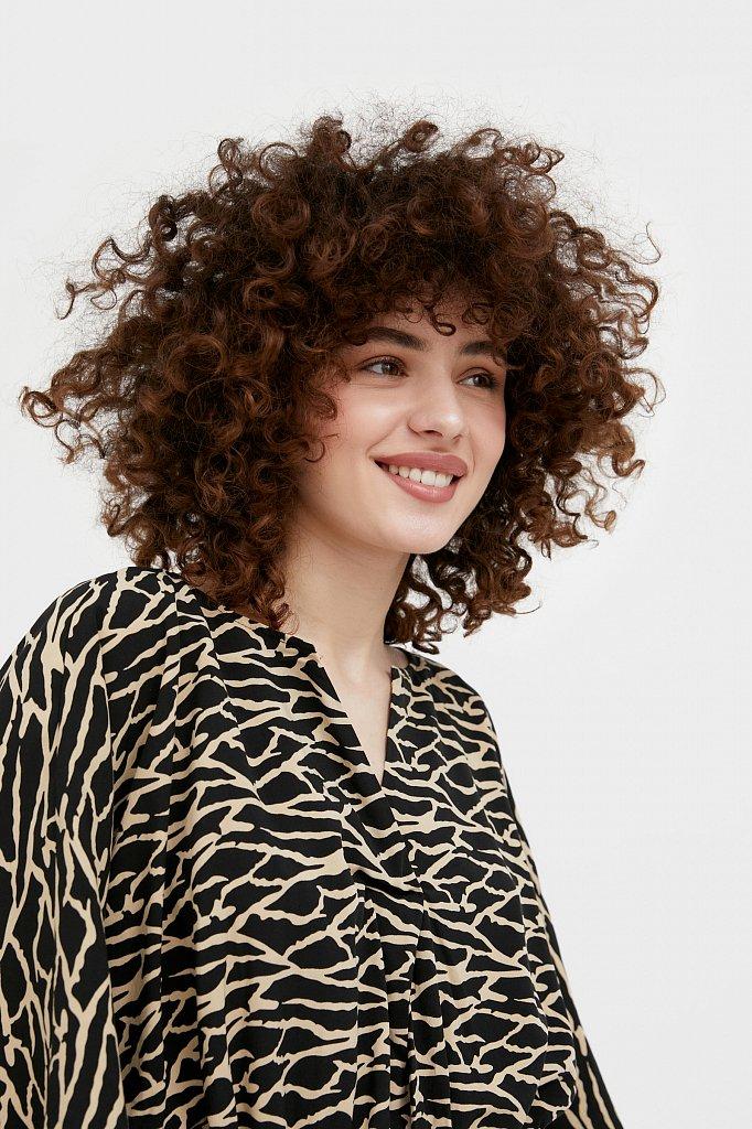 Блуза с принтом, Модель S21-14004, Фото №6