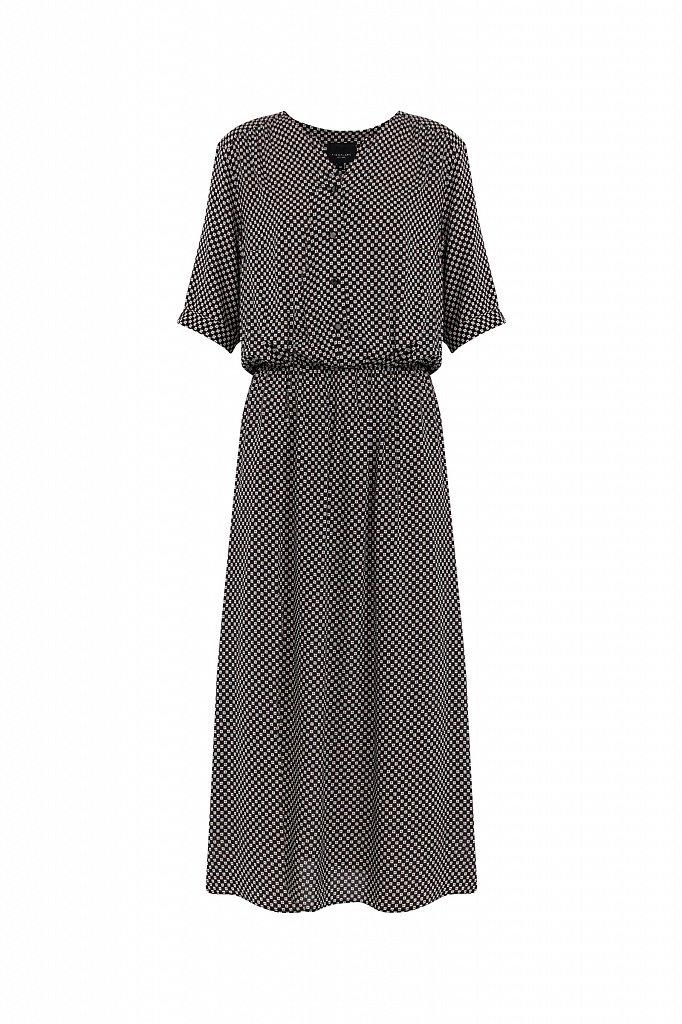 Платье-миди с принтом, Модель S21-14085, Фото №7