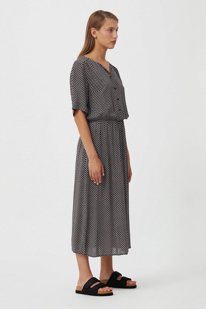 Платье-миди с принтом, Модель S21-14085, Фото №3