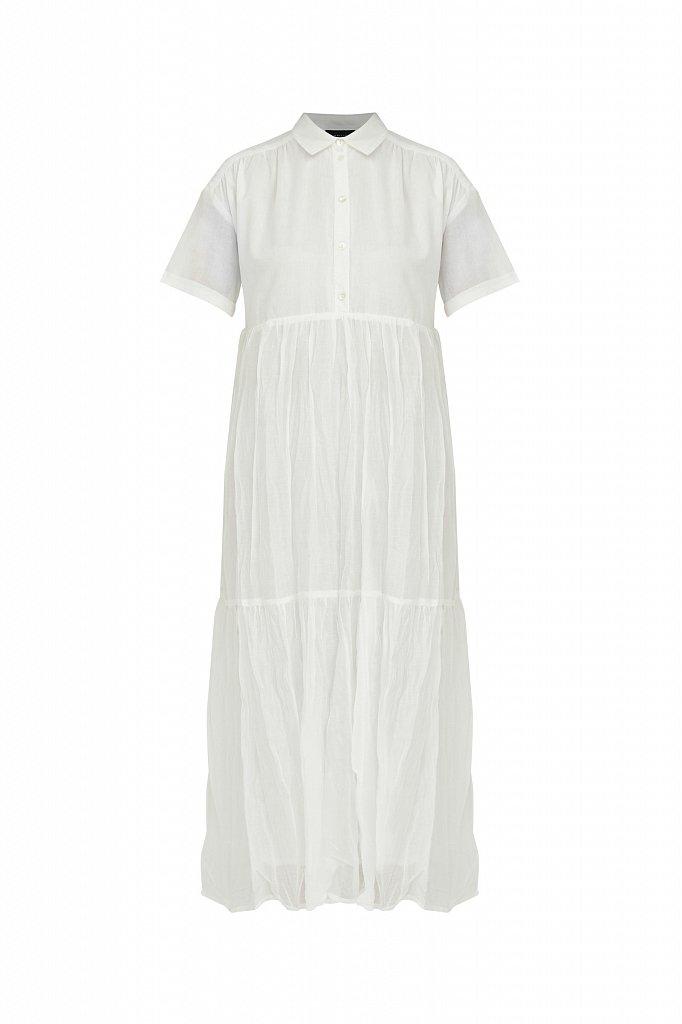 Платье миди из хлопка, Модель S21-11069, Фото №7