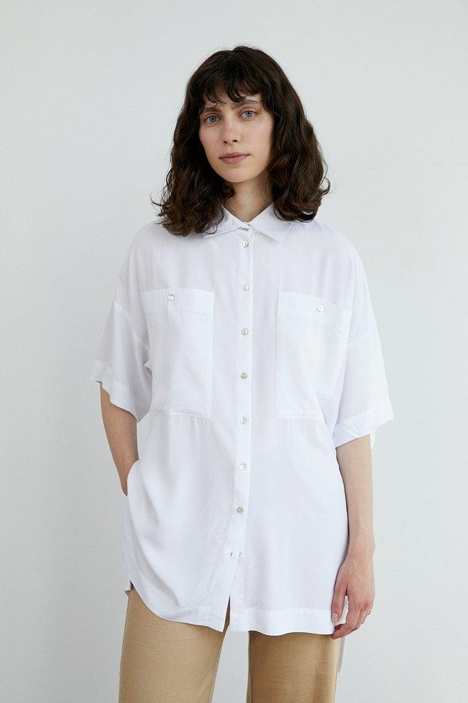 Блузка женская, Модель S21-11076, Фото №1