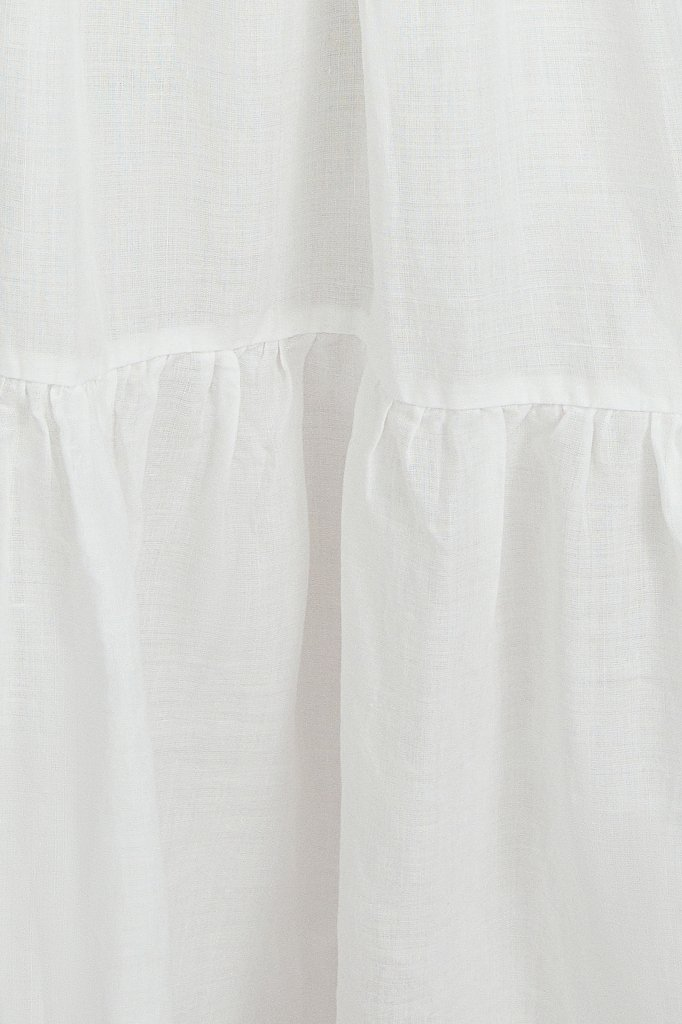 Платье миди с рукавами-буф, Модель S21-11095, Фото №5