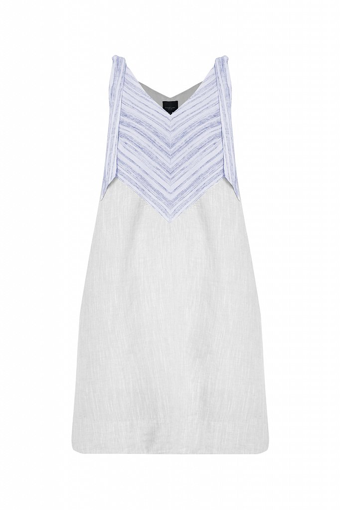 Хлопковое платье с принтом, Модель S21-14039, Фото №7