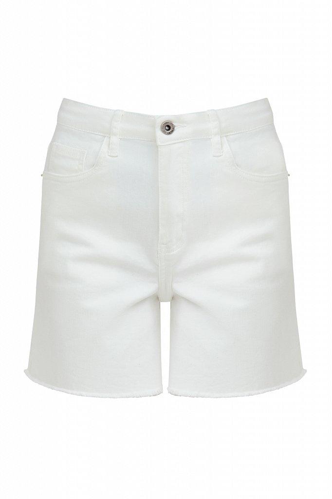 Шорты джинсовые женские, Модель S21-15011, Фото №6