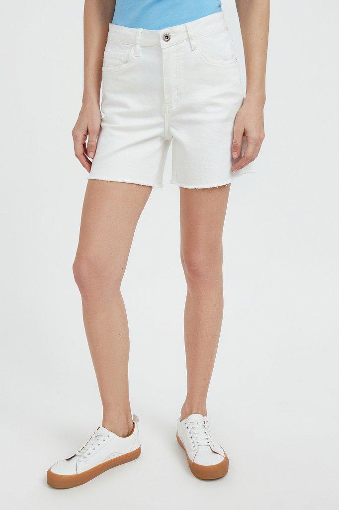 Шорты джинсовые женские, Модель S21-15011, Фото №2