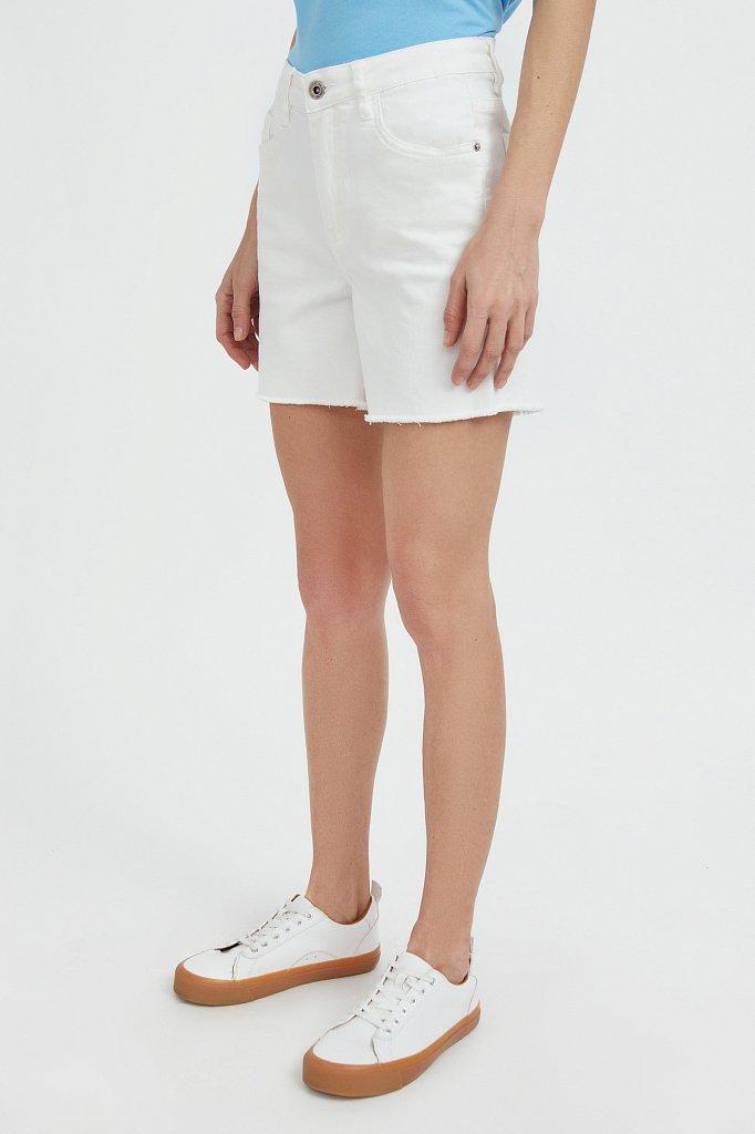 Шорты джинсовые женские, Модель S21-15011, Фото №3