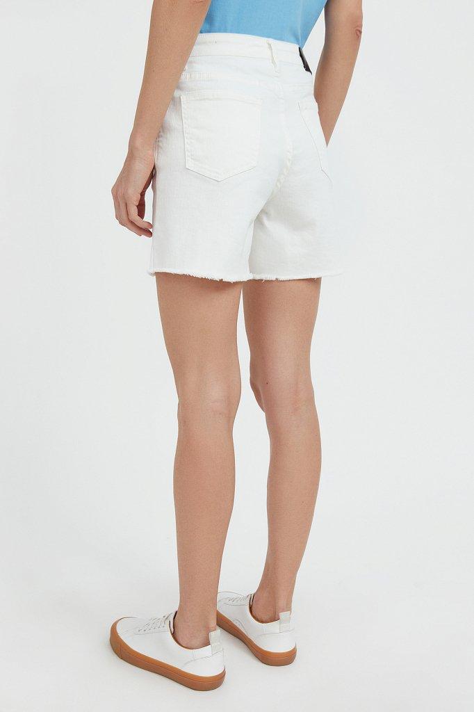 Шорты джинсовые женские, Модель S21-15011, Фото №4