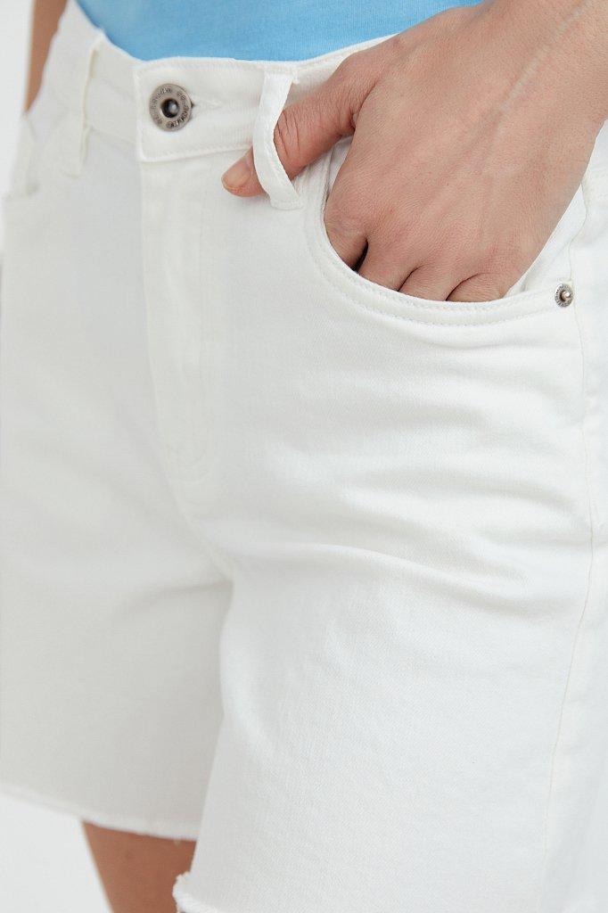 Шорты джинсовые женские, Модель S21-15011, Фото №5