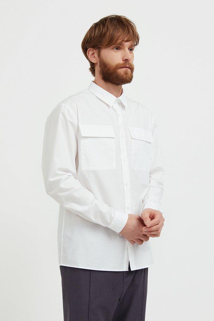 Рубашка мужская, Модель S21-21005, Фото №3