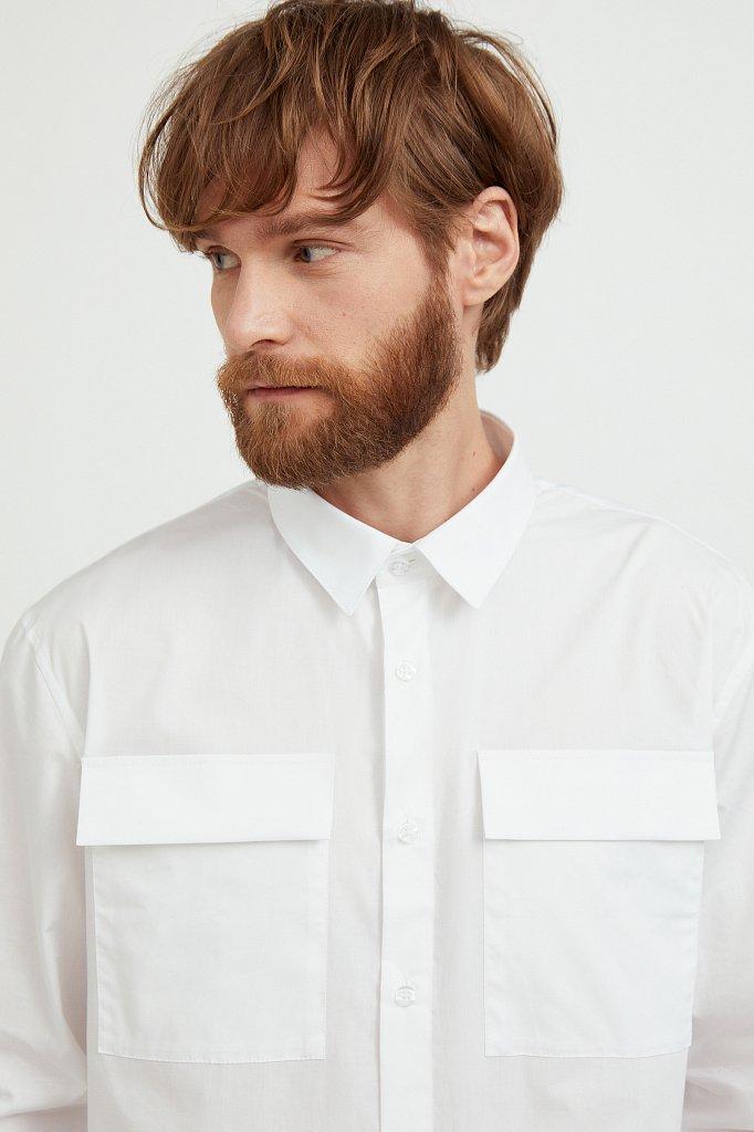 Рубашка мужская, Модель S21-21005, Фото №6