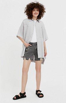 Шорты джинсовые женские S21-15010