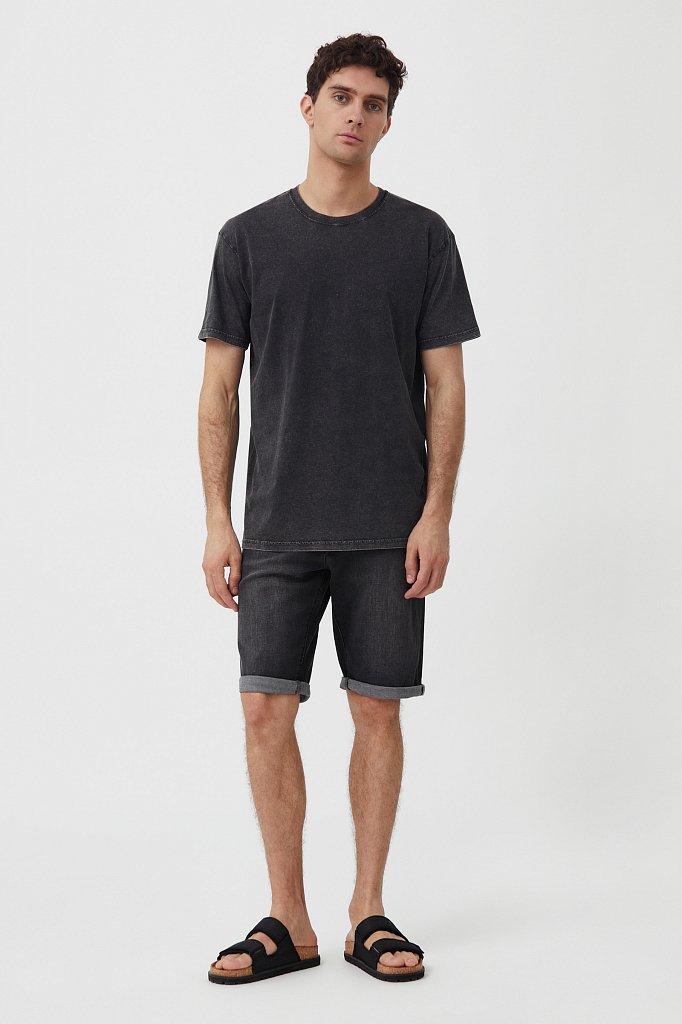 Шорты джинсовые мужские, Модель S21-25004, Фото №1