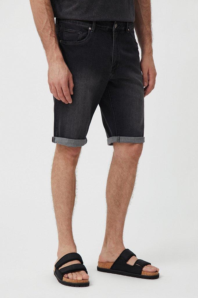 Шорты джинсовые мужские, Модель S21-25004, Фото №2