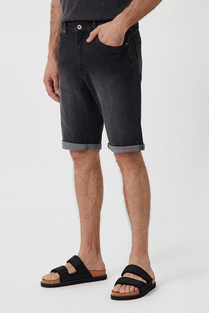 Шорты джинсовые мужские, Модель S21-25004, Фото №3