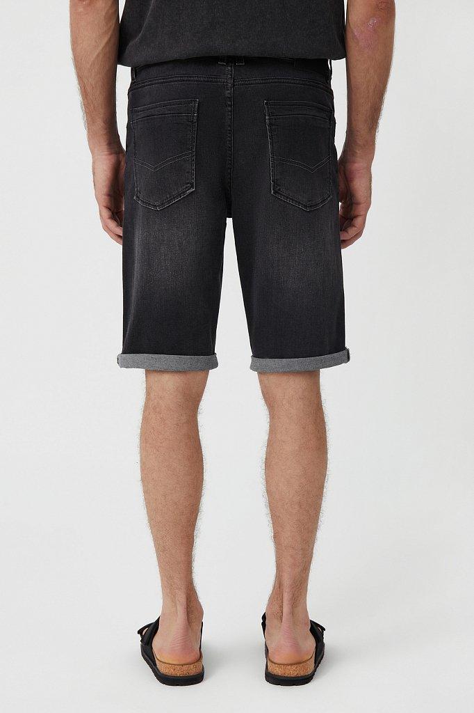 Шорты джинсовые мужские, Модель S21-25004, Фото №4