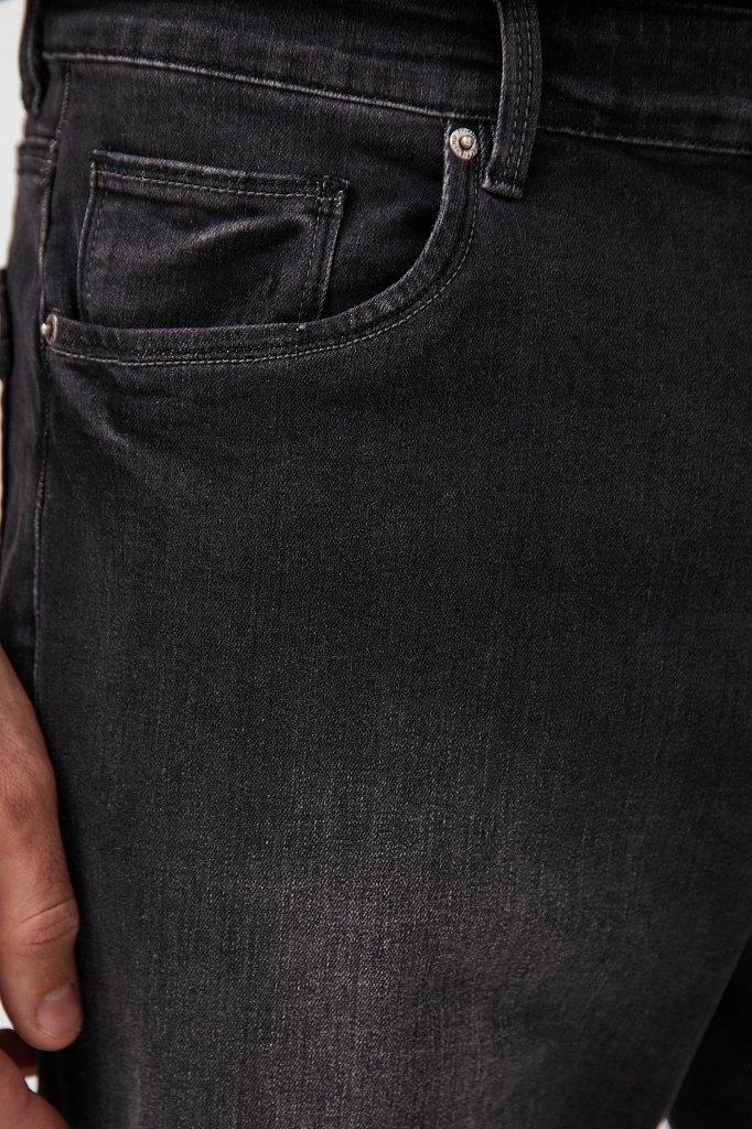 Шорты джинсовые мужские, Модель S21-25004, Фото №5