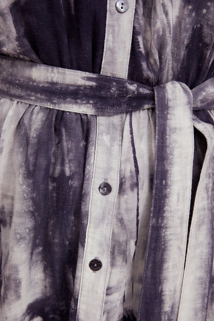 Платье из смесовой ткани, Модель S21-11023, Фото №5