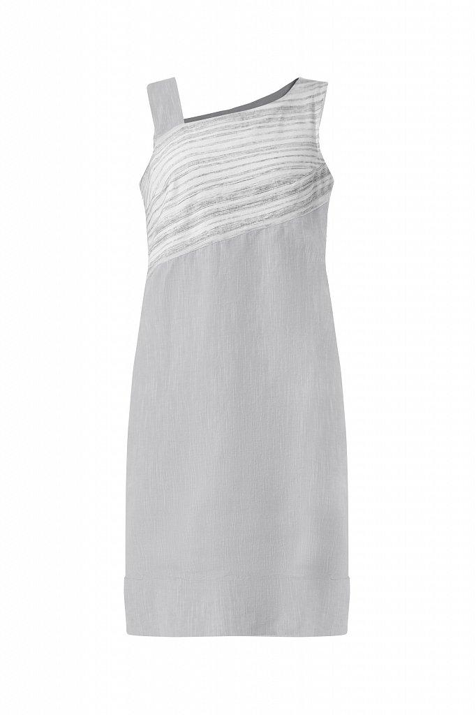 Платье из льна и хлопка, Модель S21-14036, Фото №7