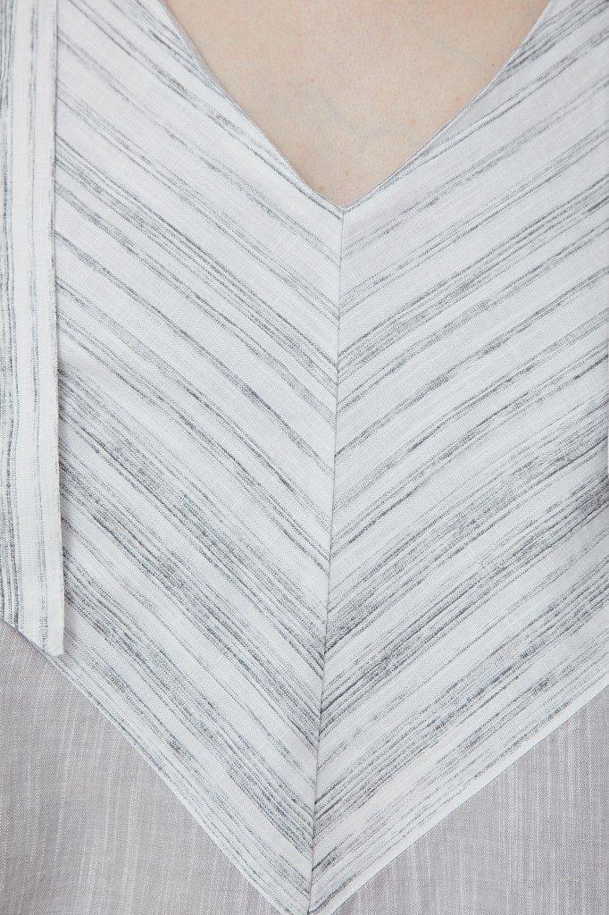 Хлопковое платье с принтом, Модель S21-14039, Фото №5