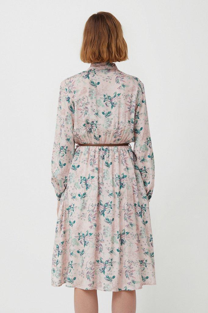 Платье миди с цветочным принтом, Модель S21-12014, Фото №4