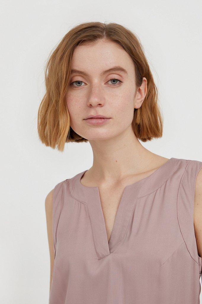 Платье макси без рукавов, Модель S21-12092, Фото №6