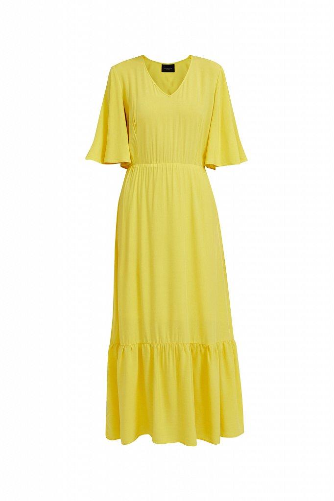 Платье макси из вискозы, Модель S21-14009, Фото №8