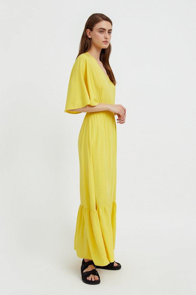 Платье макси из вискозы, Модель S21-14009, Фото №4