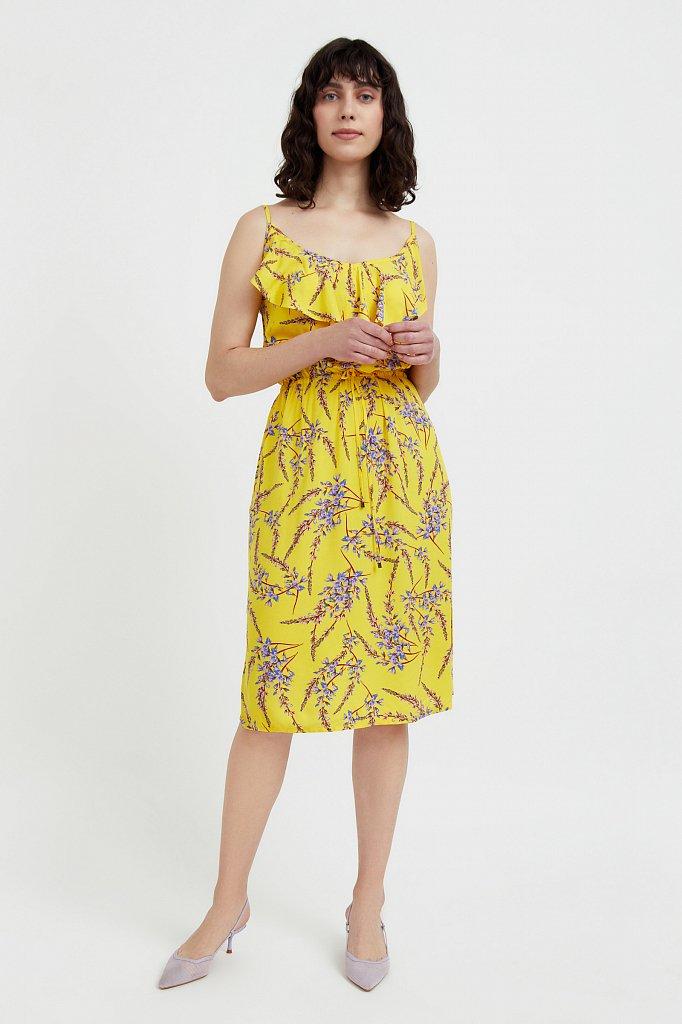 Сарафан с цветочным принтом, Модель S21-110105, Фото №2