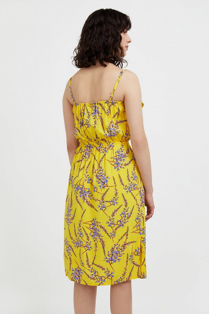Сарафан с цветочным принтом, Модель S21-110105, Фото №4