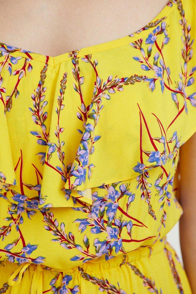 Сарафан с цветочным принтом, Модель S21-110105, Фото №5